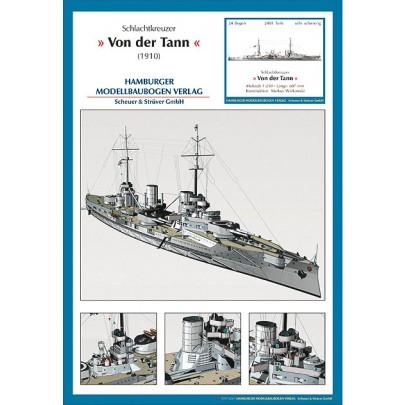 Battlecruiser SMS Von der Tann