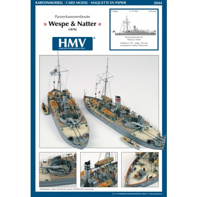 Armored Steamer SMS Wespe and SMS Natter