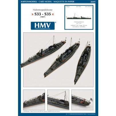 Harbor Torpedo Boat S33 - S35