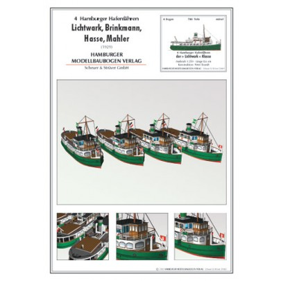 4 Hamburg Harbor Ferries
