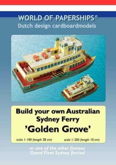 Sydney Ferry 'Golden Grove'