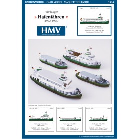 Hamburg Harbor Ferries (1952-1955)