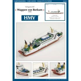 Passengership Wappen von Borkum