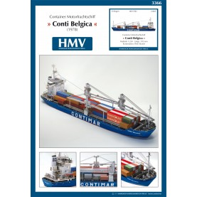 Container Ship Conti Belgica