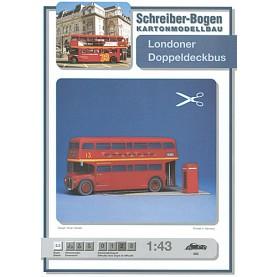 Londoner Doppeldeckbus