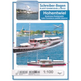 Bodensee-Raddampfer Hohentwiel