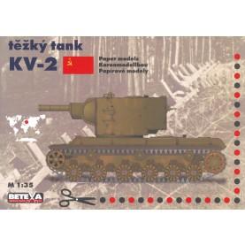 Russischer Panzer KV-2