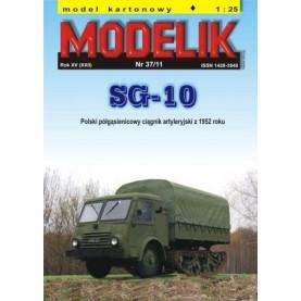 Polnisches Halbkettenfahrzeug SG-10 von 1952