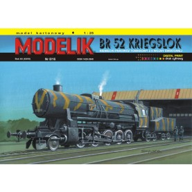 German Steam Locomotive BR 52