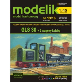 GSL 30 + 2 skip cars