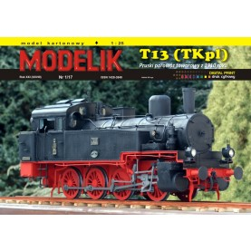 Prussian Steam Locomotive T13 (TKp1)