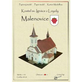 Ignatius of Loyola Church in Malenovice