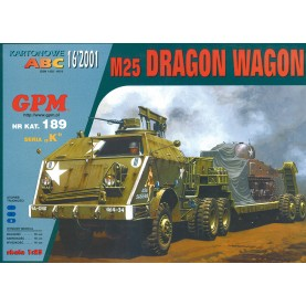 US Panzertransporter M25 Dragon Wagon