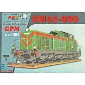 Diesellok SM 42-999