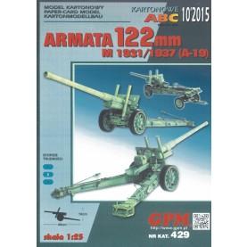 Soviet field gun 122 mm M1931/37 (A-19)