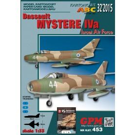 Dassault Mystere IVa (IAF)