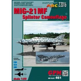 MiG-21 MF Splinter Camouflage
