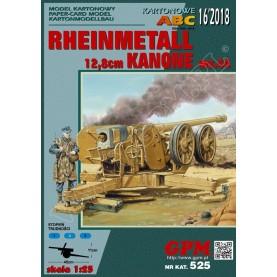 RHEINMETALL 12,8cm Kanone 43 / 44