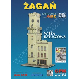 Town Hall Tower in Zagan