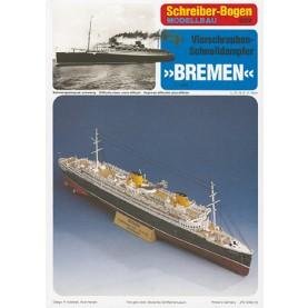 """Schnelldampfer """"Bremen"""""""
