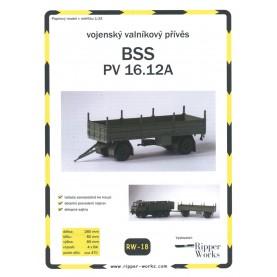 LKW Anhänger BSS PV 16.12A