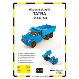 Tipper Truck Tatra T2-148 S3