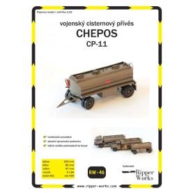 Tankwagen-Anhänger Chepos CP-11