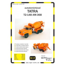 Betonmischer Tatra T2-148 AM-368