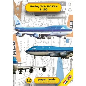 Boeing 747-300 KLM
