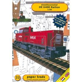 Diesellok DE 6400 Railion
