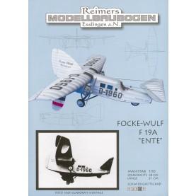 Focke Wulf F19a Ente