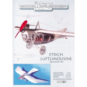 "Etrich ""Luftlimousine"" from 1912"