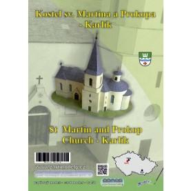St Martin and St Prokop Church in Karlik
